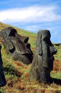 l'altra faccia dei moai