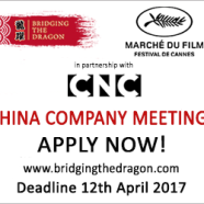 Call for entries: China day a Cannes